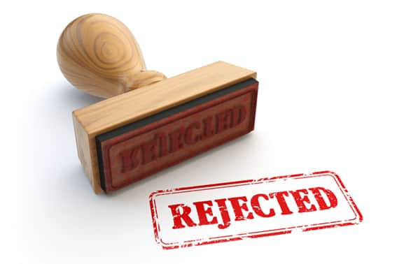 What to do after your pr application has been rejected